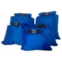 Новый 5 шт./компл. Открытый водонепроницаемый плавательный мешок кемпинг для хранения при сплаве сухой мешок с регулируемым крючок для ремн...