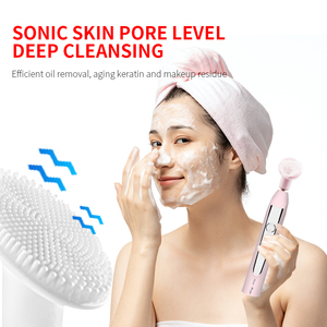 Image 2 - HERE MEGA Electric Sonic Toothbrush USB Rechargeable Electronic Automatic Cleansing Brush Head Ultrasonic Whitening Teeth Adult