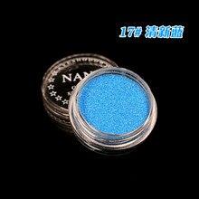 1 коробка свежий синий 23 Цвета Блеск тени для век порошок пигмент минеральный Spangle Гладкий макияж косметический набор Водонепроницаемый долговечный