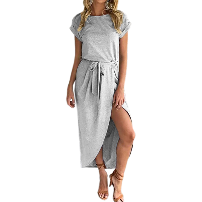 Casual Dress with Slit