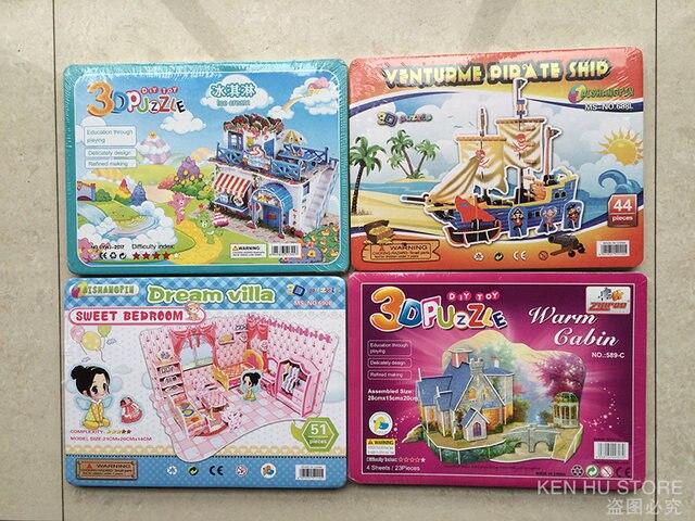 Online Shop 3D giocattoli per bambini puzzle di Cucina soggiorno ...