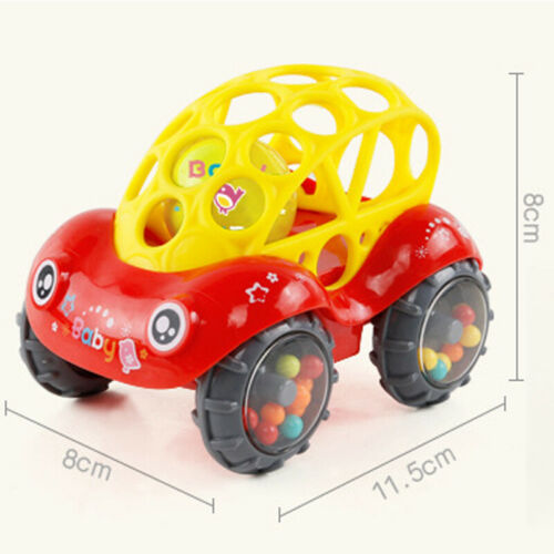 Image 4 - 2019 Brand 1 Piece Rattle and Roll Car, Assorted Colors O Ball Play Toy Kids Game Toddler Gift-in Diecasts & Toy Vehicles from Toys & Hobbies