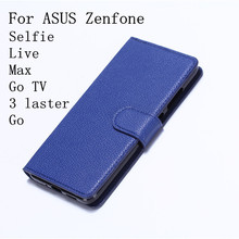 e15c107e9f02 Wallet Leather Case For ASUS Zenfone Selfie Live Max Luxury Flip Coque  Phone Bag Cover For