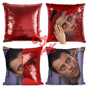 Image 5 - Friends TV SHOW الترتر الوسائد جوي Tribbiani إقتباس ديكور المنزل ، غطاء وسادة ، هدية لها ، هدية له ، هدية هووسورمينغ ، Gra