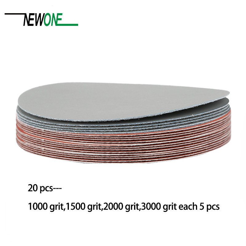 Image 2 - 20pcs 125mm 5 Inch Sanding Discs 1000 1500 2000 3000 Grit Polishing Sand Paper For Power Tools-in Abrasive Tools from Tools