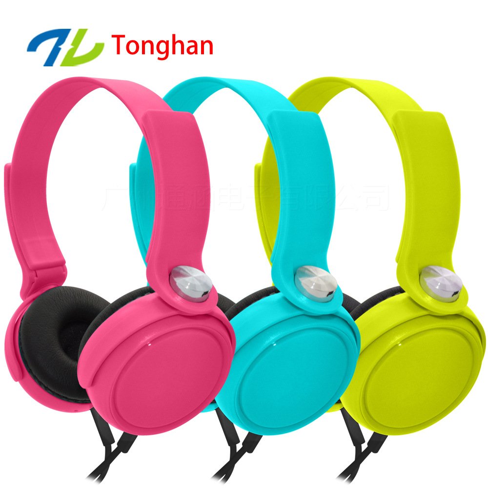SA08 3.5mm Earphones Headsets Stereo Earbuds For mobile phone MP3 MP4 For PC