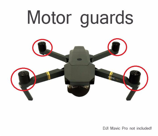 Защита моторов для dji dji оригинальные стикеры набор для квадрокоптера dji