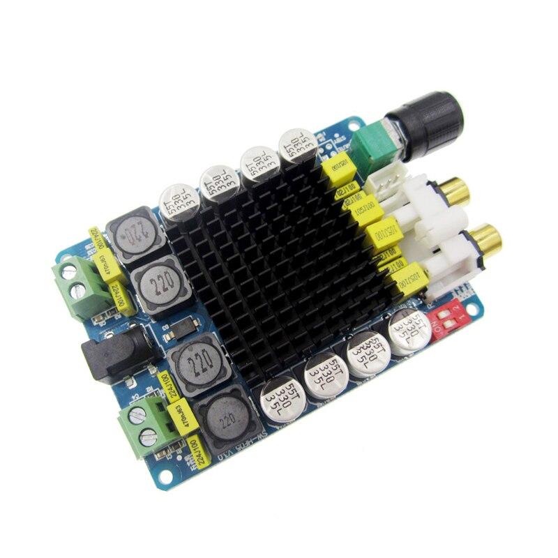 Bordo dell'amplificatore di TDA7498 Classe D 2X100 W Dual Channel Audio Stereo 80 W + 80 W Digitale Modulo amplificatore Consiglio