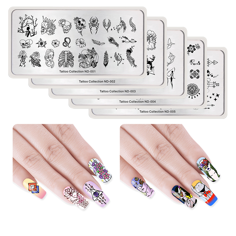 The Nail Art And Beauty Diaries: NICOLE DIARY Nail Stamping Image Plate Typography