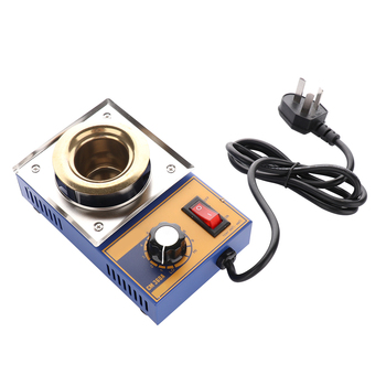 100W CM-360A Lead-Free Adjustable Temperature Tin Furnace High Quality Temperature Controlled Soldering Pot Melting Tin