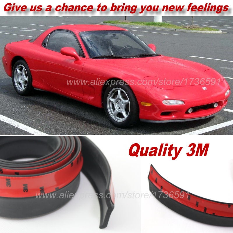 For Mazda Savanna RX7 RX 7 RX 7 FC FD Bumper Lips Spoiler Car Tuning / Body  Kit Strip Front Tapes / Body Chassis Side Protection