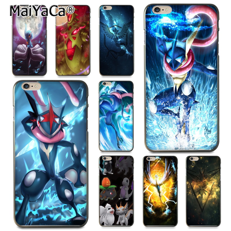 Maiyaca Pokemons Go Gengar Sinister Nebula Style Coque Shell Phone Case For Apple Iphone 8 7 6 6s Plus X 5 5s Se 5c Cellphones