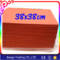 High Temperature Resistant Foaming Silicon Sheet 38 38cm 0 8cm Thickness