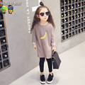 Girls Clothes 2016 Tops Girl Long Design Long-Sleeve T Children Clothing Spring Everything For Children Clothing And Accessories