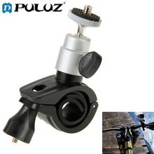 PULUZ Bicycle Motorcycle Holder Handlebar Mount Camera Stand Bracket for GoPro