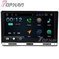 7 дюймов 800*480 Четырехъядерных Процессоров 16 Г Android 6.0 Навигация GPS Автомобиля для Универсальный 2DIN С Радио Мультимедиа видео Dvd-плеер