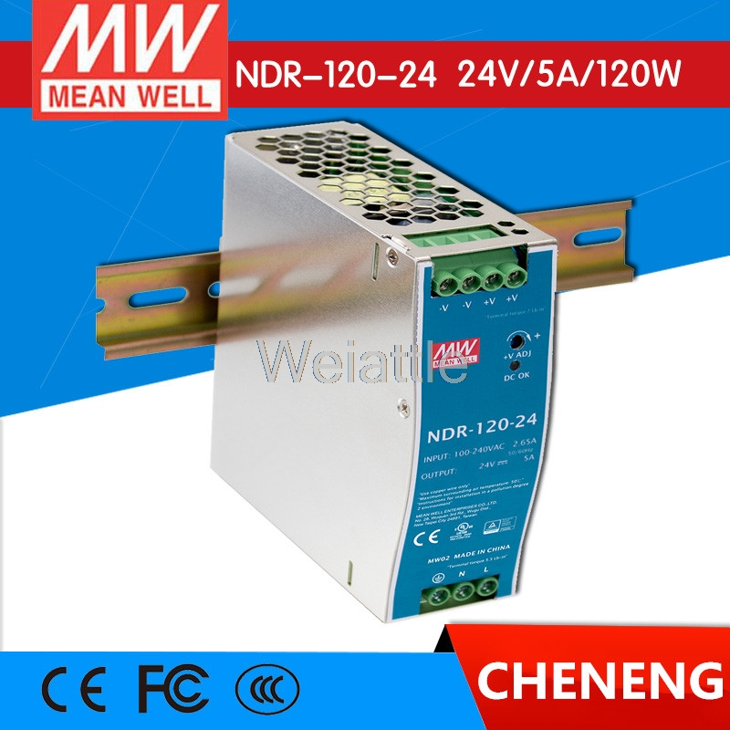 MEAN WELL original NDR-120-24 24V 5A meanwell NDR-120 24V 120W Single Output Industrial DIN Rail Power Supply elbphilharmonie hamburg ndr elbphilharmonie orchester