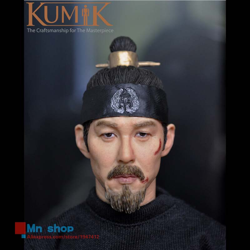 12 Figure Ferritic Model Toy 1/6 Male Man Doll Custom Head Sculpt Middle-aged Headplay Head Carving Toys Collection KUMIK15-1 king arts ffs003 bullet ant man doll static model miniature doll model doll collection