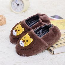 Baby Shoes Winter kids Slippers Children Funny Soft Boys Home Tiger Kids Girls Cartoon Indoor Warm