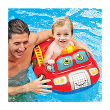 Cute Baby Swimming Float Ring Kids Swimming Pool Seat Swim Training Aid Trainer Float Bath Water Toys for Kids 0-2 Years old 1 pcs baby kids inflatable float seat swimming ring trainer safety aid pool water toy xr hot water safety life buoy