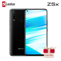 vivo Z5x Mobile Phone celular 6.53 Screen 8G 128G Snapdragon710 Octa Core Android 9 5000mAh Big Battery Quick Charge Smartphone