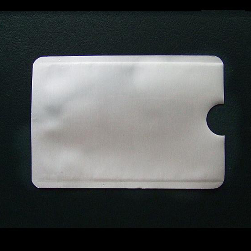 20PCS Anti Scan RFID Blocking Sleeve for Credit Card Secure your Identity ATM Debit Contactless IC