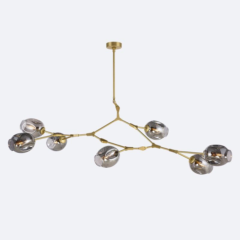 Lindsey Adelman Globe Branching Bubble Glass Pendent Light Chandelier Living Dinning Room Lobby Lamp Gold Bar Stair Fixture футболка insight lindsey gooden tee dusted