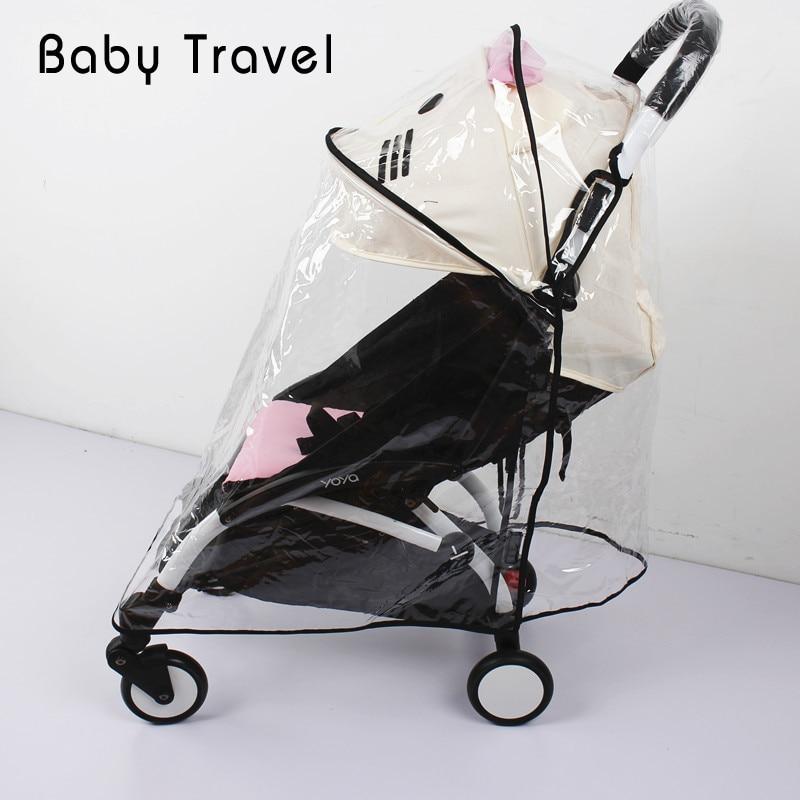 Stroller Accessories Rain Cover For Babyzen Yoyo Baby Yoya Plus Windproof Waterproof Infant Pram Pushchair Universal Raincoat