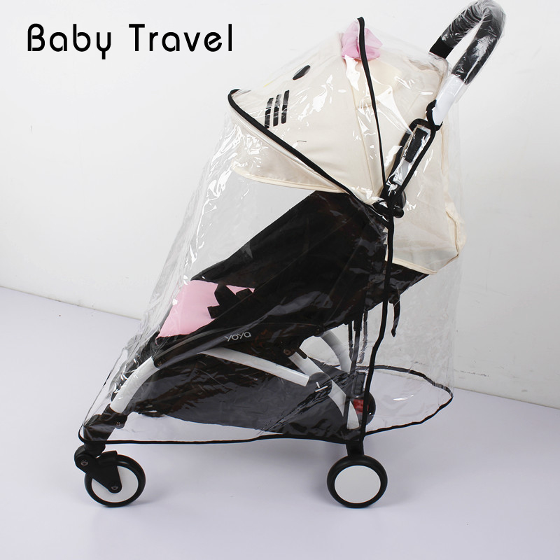 Stroller Accessories Rain Cover for Babyzen Yoyo Yoya Baby Time Windproof Waterproof Infant Pram Pushchair Universal Cover baby stroller accessories for yoya yoyo babyzen sun shade cover seat infant pram cushion pad sunshade canopy buggies for babies