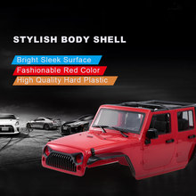 Hoge Kwaliteit Hard Plastic Auto Body Shell voor 313mm Wielbasis 1/10 Axiale SCX10 SCX10 II Chassis RC Jeep Truck auto DIY Onderdelen(China)