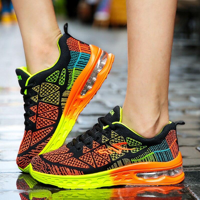 Hommes chaussures décontractées léger Air coussin appartements baskets Tenis Masculino Adulto chaussures hommes chaussures hommes formateurs Chaussure Femme