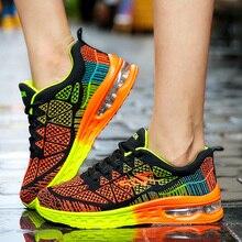 גברים נעליים יומיומיות קל משקל אוויר כרית דירות סניקרס Tenis Masculino Adulto הנעלה זכר נעלי גברים מאמני Chaussure Femme
