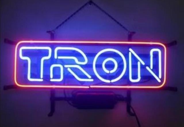 Custom TRON Nintendo Glass Neon Light Sign Beer Bar 1