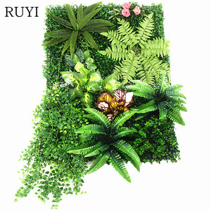 Image 2 - Self Made Fake Grass Carpet Persian/ Begonia Leaves Diy Simulation Grass Window/Hotel/Store Backdrop/Artificial Grass Wall Decor