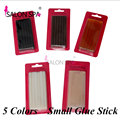 Keratin Glue Sticks 12pc/pack Hot Melt Glue Sticks 10mm*7mm Professional Hair Tools 5 Colors For Fusion Keratin Hair Extensions