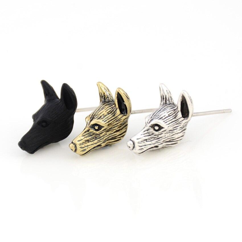 Jewelry & Accessories Drop Earrings Vintage Silver Welsh Corgi Dog Drop Earring Punk Pet Lover Earrings For Women Jewelry Christmas Gift Bijoux Femme Pendientes