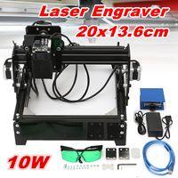 10W USB Desktop Metal Stone Wood CNC Laser Engraver Marking Engraving Machine Engraving Area 20 X