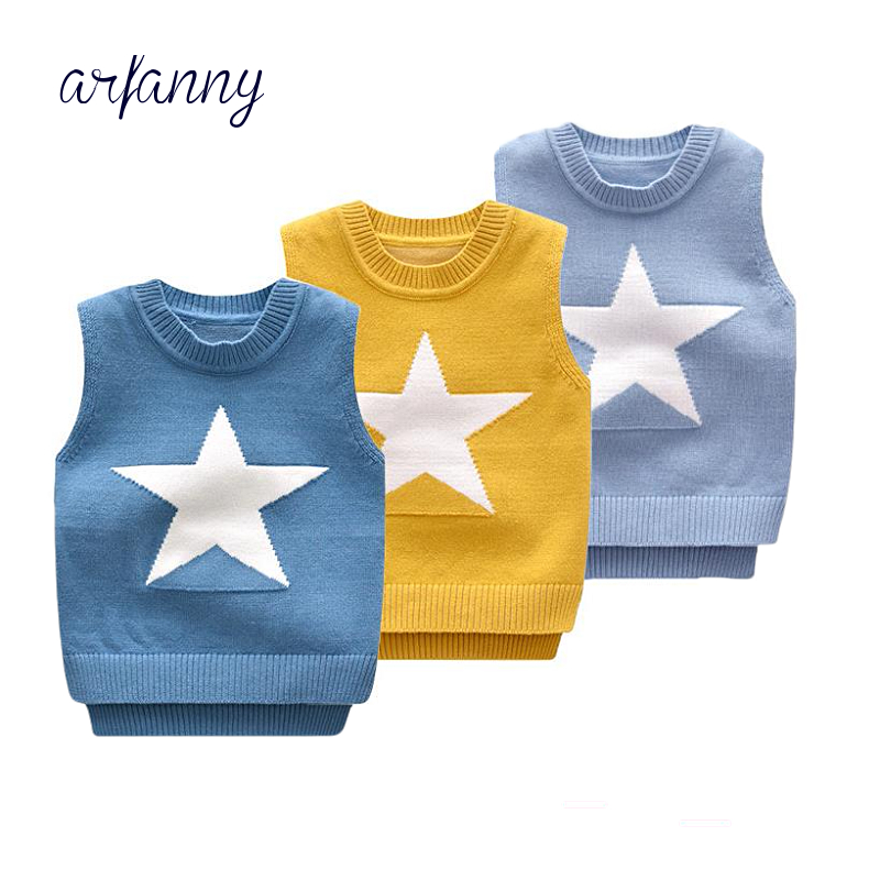5133b88190b6 Baby Boy Vest Spring and Autumn 0 2 years boys Soft Sweater Vests ...