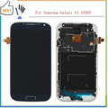 New Blue LCD For Samsung Galaxy S4 i9505 LCD Display Touch Screen Digitizer+Frame Assembly Replacements , Free Shipping