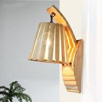 Southeast Asia balcony aisle entrance wall corridor corridor stairs design studio resort creative garden bamboo wall lamp