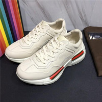 New 2018 Triple S Shoes Men Women Sneaker High Quality Mixed Colors Thick Heel Trainer Triple S Casual Shoes