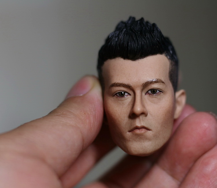 1:6 scale male Figure accessories HK Edison Chen head shape carved for 12 Action figure doll,not include body;clothes 1 6 scale figure doll head shape for 12 action figure doll accessories iron man 2 whiplash mickey rourke male head carved