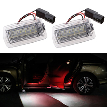 Lonleap 2 Pieces LED Car Door Lights Projector Courtesy Lamp Open Safe Light For Lexus & Toyota Subaru BRZ