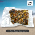 Wholesale 100pcs 6-7mm round saltwater Akoya pearl oyster, pack of 10, best valentine gift