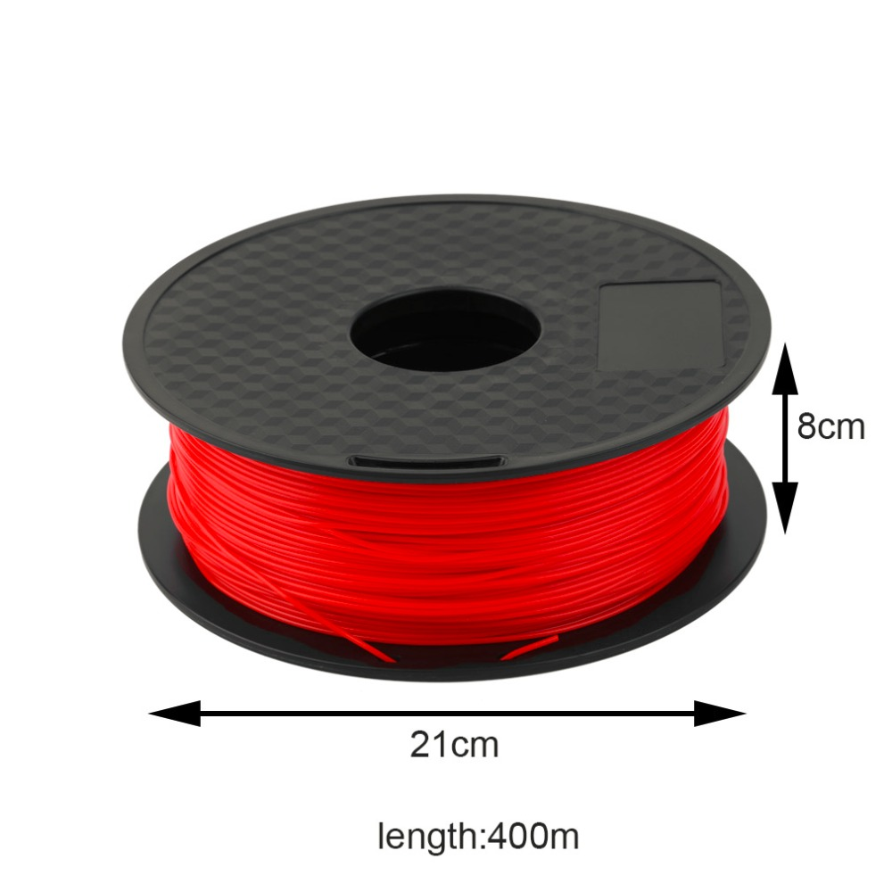 1KG/Roll ABS 1.75MM 3D Printer Filament 400M 3D Print Filament For 3D Printer 3D Printing Pen Red/Black/Blue/Green new original plc fx2n 4ad
