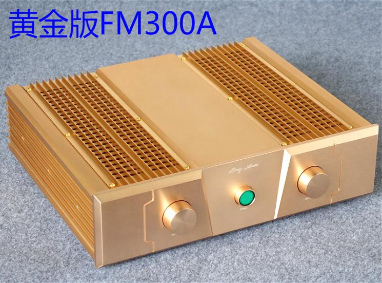 2017 New Music Hall Hi-End Golden Power Amplifier HiFi Stereo 2.0 Channel Post-Amp 2*150W2017 New Music Hall Hi-End Golden Power Amplifier HiFi Stereo 2.0 Channel Post-Amp 2*150W