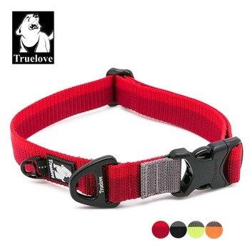 Truelove Ajustável Nylon Dog Coleiras Para Cães Pequenos Grandes Macio Pet Coleira Para Cães Andando Jogging Dog Acessórios de Viagem Ao Ar Livre