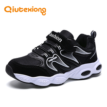 QIUTEXIONG Boys Sneakers Girls Casual Shoes For Kids Children Shoes Breathable Lightweight MD Running Sport Kid chaussure enfant