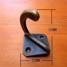 10 шт металлический крючок для ключей 23 х23х33 мм