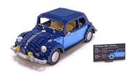 Lepin 21014 1707Pcs Technic Classic Series The Ultimate Beetle Model car Building Kits Blocks Bricks Toys For Children 10187